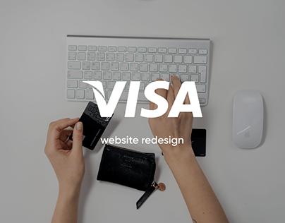 Visa | website redesign
