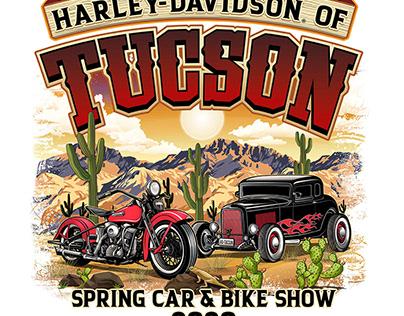 Harley-Davidson of Tucson vector art