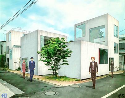 #archanime V01 Moriyama House by Ryue Nishizawa