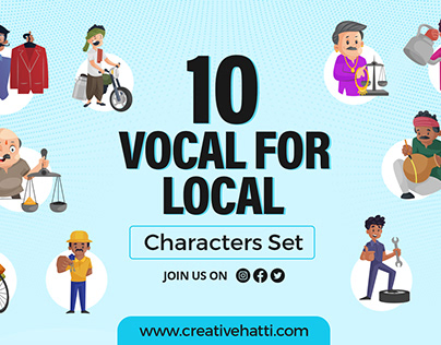 10 Indian Character Sets | Vocal for Local