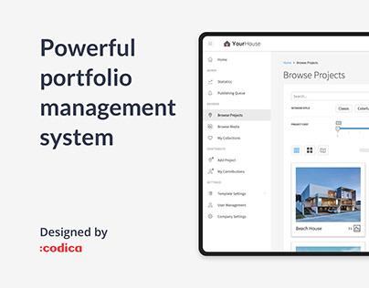 Powerful portfolio management system