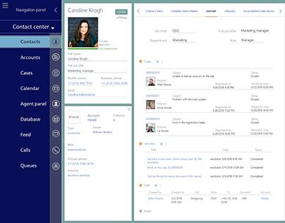 IU Design: Customer relationship management platform