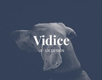 Vidice - UI/UX Design