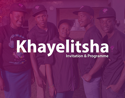 loveLife Khayelitsha Invitation & Programme - 2013