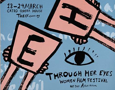 THE Women Film Festival Brand Identity