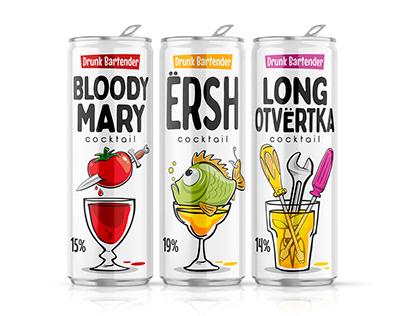 Drunk Bartender Cocktails