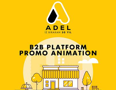 Adel Kalemcilik B2B Platform Promo