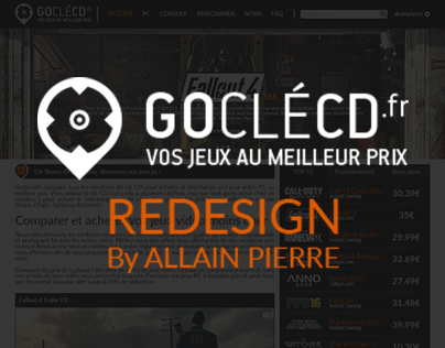 GOCLECD | Re-design