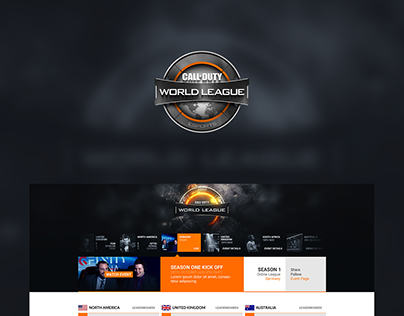 COD World League Website