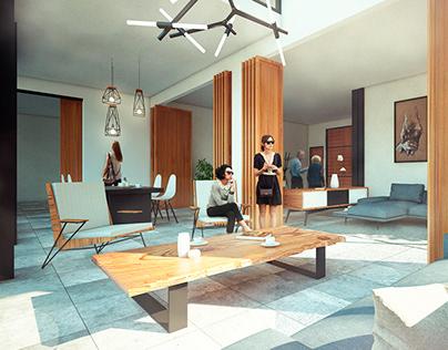 House Miami - Interior Desing