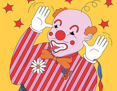 Clown - for Papier Magazine n°3