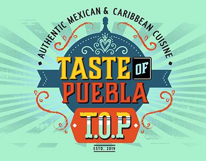 Taste Of Puebla Branding & Food Truck Design