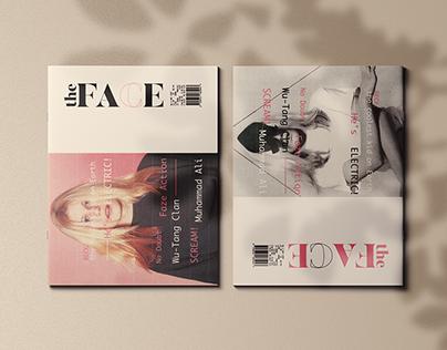THE FACE magazine re-design