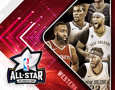 NBA Social Media Artwork - All-Star Game 2018