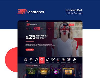 Londra Bet UI/UX Design