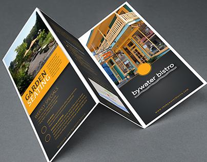 Bywater Bistro Brochure Design