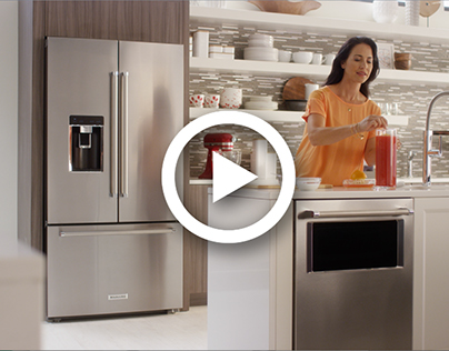 KitchenAid Counter-Depth French Door Refrigerator