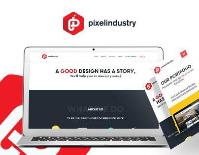 Pixel Industry - Rebranding