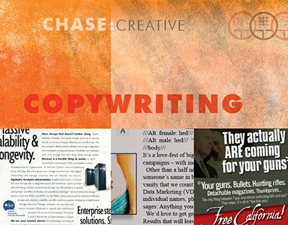 CHASE : COPYWRITING