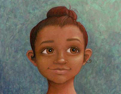 Ballerina Character Portrait