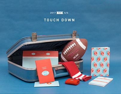 'Touch Down' stationery set