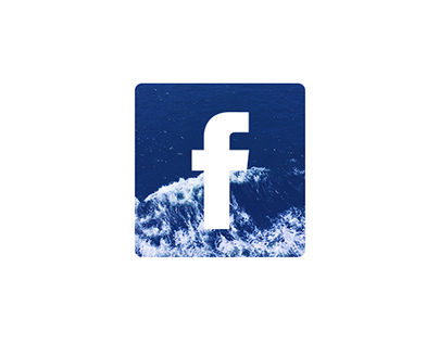 Waves Social Media Icon Design