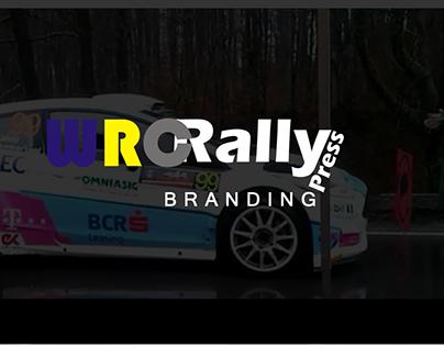 WRC Rally Press - Branding