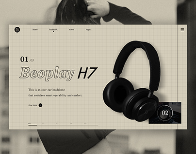 beoplay concept brand design