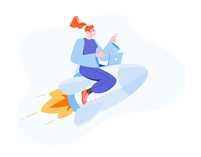 Creative Launch illustration