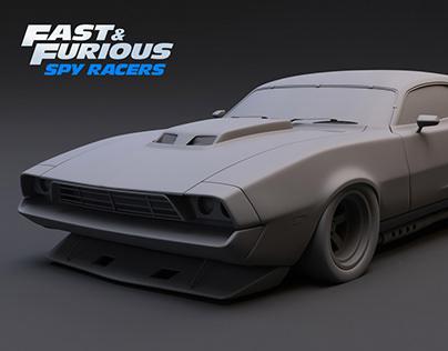 Tony Car / Fast & Furious Spy Racers