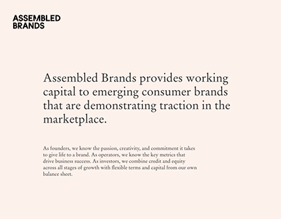 Assembled Brands