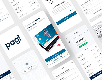 Pag Wallet App - Redesign concept