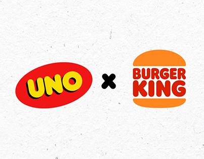 """UNO x BURGER KING"""