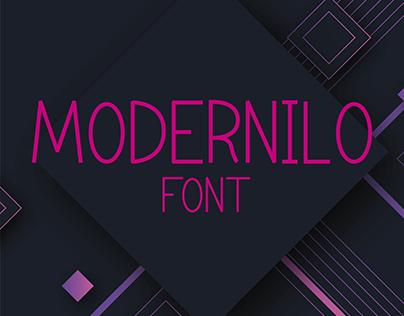 Modernilo Font