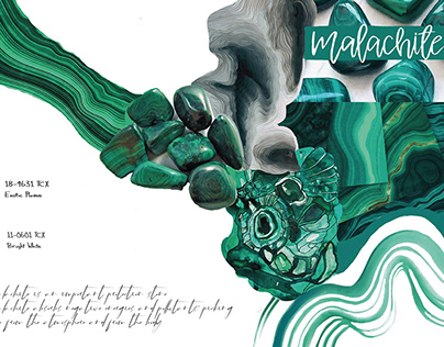 MALACHITE-Lingerie capsule collection