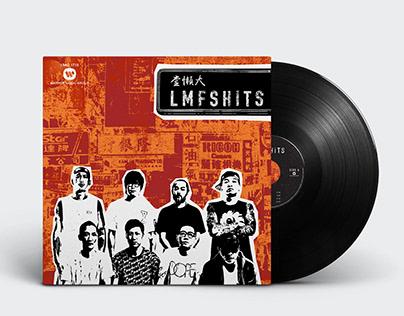 LMF - LP Album Cover Vinyl Design