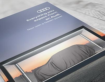Audi Q5 Plug-in Hybrid Reveal Campaign
