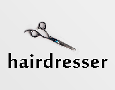 Business card for the hairdresser