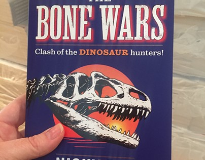THE BONE WARS. OUT NOW! . Illustration.