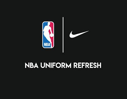 NBA Uniform Refresh