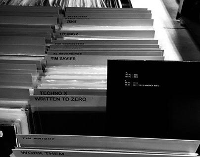 WTZ Record Label Design
