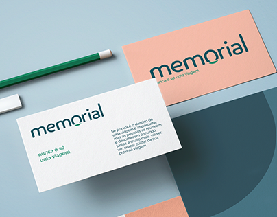 Identidade Visual Memorial Turismo