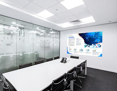 Company Board Isometric Print