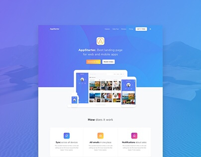 AppStarter UI Kit