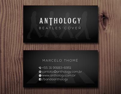 Banda Anthology - cartão de visita