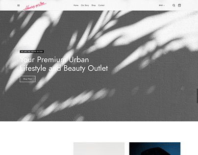 Website for House Of Zoo - Urban Outlet