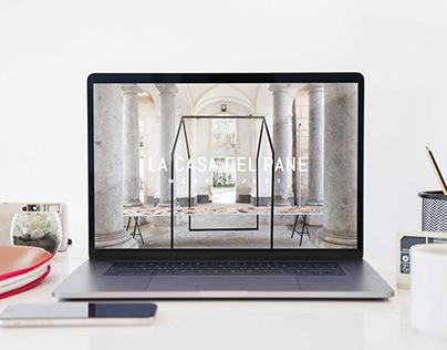 La casa del pane - realizzazione sitoweb
