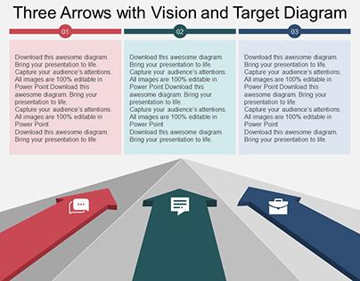 Arrows Target Free PowerPoint Diagram