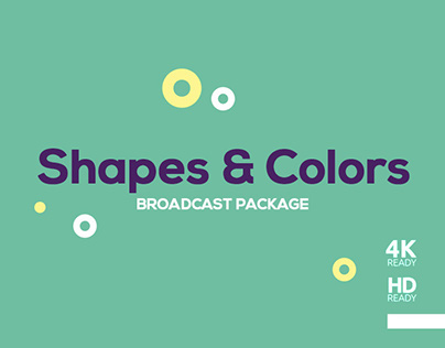 Shapes and Colors Broadcast Package