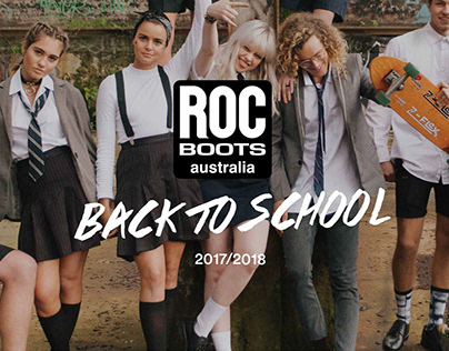 ROC Boots Back To School – Poster Design & Layout
